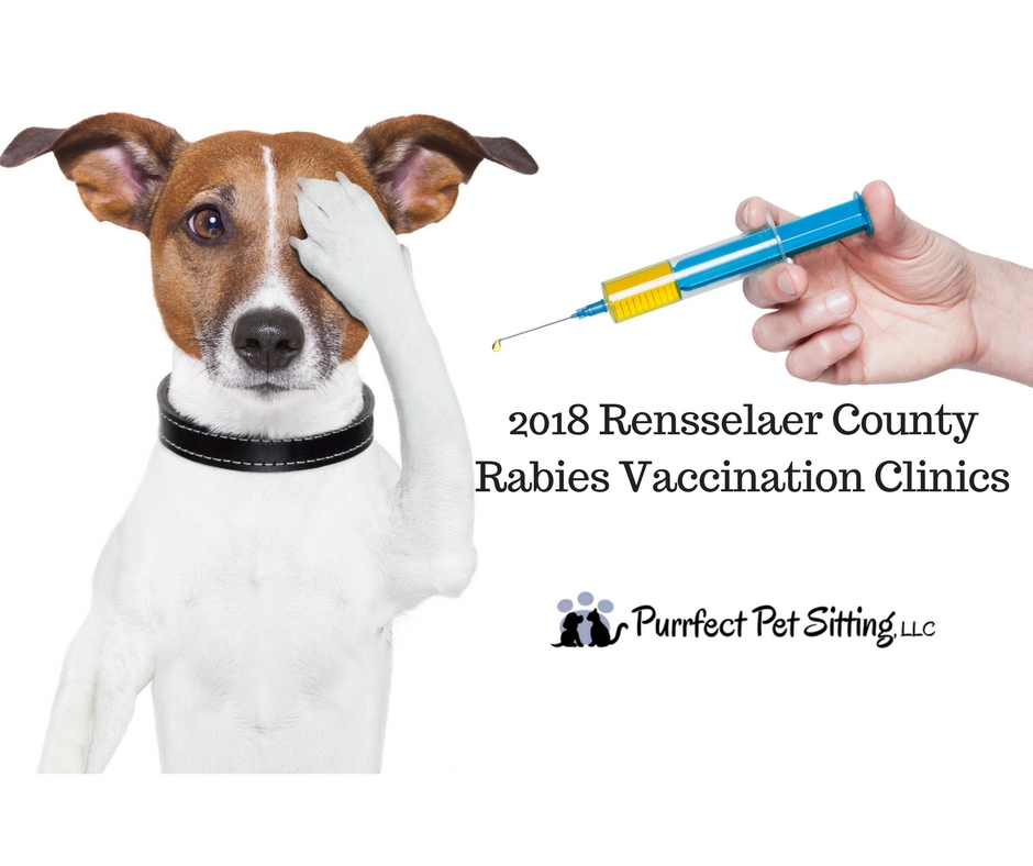 2018 Rensselaer County Rabies Vaccination Clinics